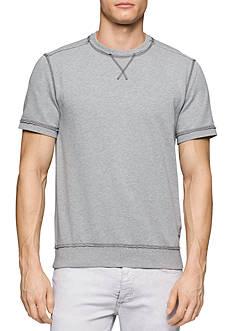 Calvin Klein Jeans Short Sleeve Crew Neck Terry Sweatshirt