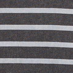 Young Men: Pullovers Sale: Black Calvin Klein Jeans Short Sleeve Wash Stripe Henley Shirt