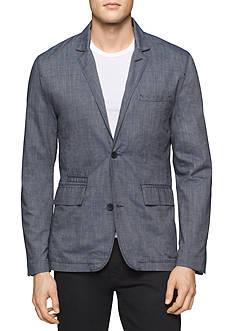 Calvin Klein Jeans Chambray Blazer