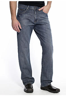 Calvin Klein Jeans Relaxed Straight Leg Denim