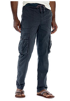 Calvin Klein Big & Tall Poplin Cargo Pants