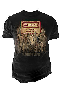 Changes The Walking Dead Warning Tee