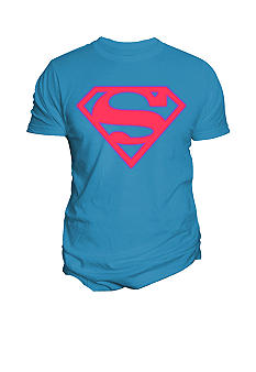 Changes Superman Neon Graphic Tee