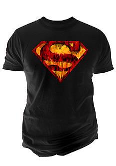 Changes Superman Logo Ink Wash Tee