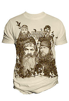 Changes Duck Dynasty Contrast Montage Tee