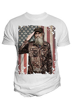 Changes Duck Dynasty Si USA Flag Tee