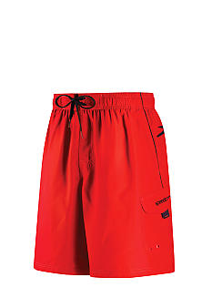 Speedo Marina Solid Cargo Swim Trunks