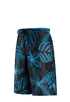 Speedo Spiral Graphic Floral E-Board Cargo Shorts