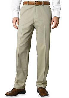 Savane® Big & Tall Chino Flat Front Wrinkle-Free Pants