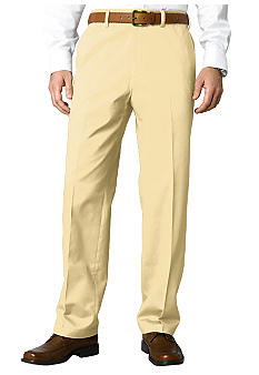 Savane Big & Tall Super Soft Performance Flat Front Chino Pants