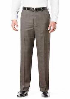 Savane Classic-Fit Flat-Front Non-Iron Pants