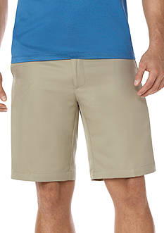 Savane® Performance Micro-Twill Shorts