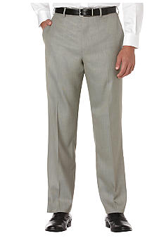 Savane Straight Fit Sharkskin Pants