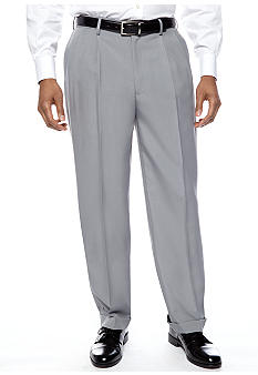 Savane® Crosshatch Dress Pants