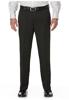 Savane® Straight-Fit Flat-Front Wrinkle-Resistant Dress Pants