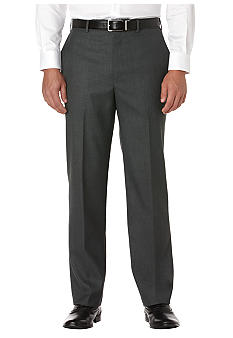 Savane® Big & Tall Sharkskin Dress Pants