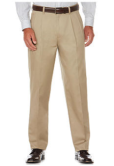 Savane® Eco-Start Pleated Chino Pants