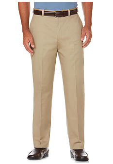 Savane® Eco-Start Flat Front Chinos