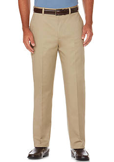 Savane® Straight-Fit Flat-Front Wrinkle-Resistant Pants