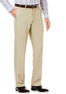 Savane® Flat Front Ultimate Khaki Pants
