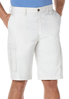 Savane® Eco-Start Canvas Cargo Shorts