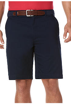 Savane Eco-Start Twill Flat Front Basic Shorts