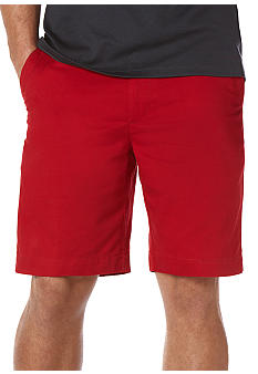 Savane Eco-Start Twill Flat Front Fashion Shorts