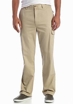 Savane® Eco-Start Straight Fit Flat Front Cargo Pants