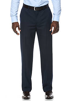 Savane Travel Intelligence Classic Fit Navy Mini Houndstooth Suit Separate Pants