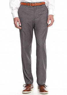 Savane Premium Flex Flat-Front Dress Pants