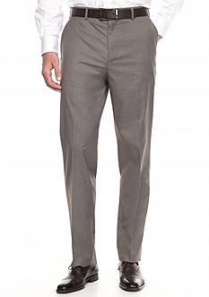 Savane Premium Flex Flat-Front Dress Pants