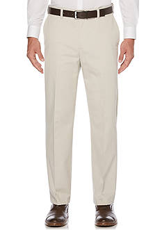 Savane Straight-Fit Eco-Start Flat-Front Wrinkle-Resistant Pants