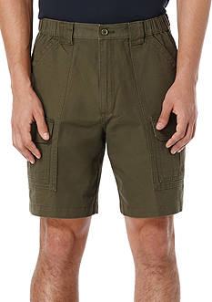 Savane 8-in. Flat-Front Cargo Hiking Shorts