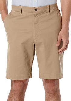 Savane Premium Flex 9-Inch Twill Stretch Shorts