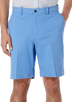 Savane Premium Flex 9-Inch Twill Stretch Shorts