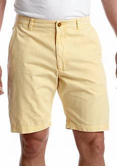 Savane® Soft Wash® Straight Fit Garment Dyed Shorts