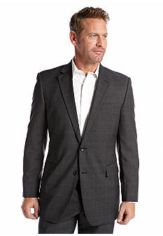 Nautica Charcoal Tic Suit Separate Coat