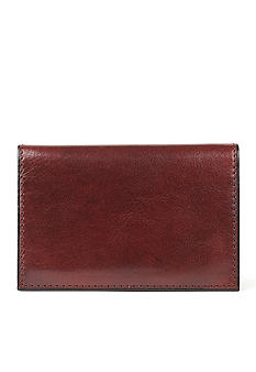 Bosca 'Accessories in Leather' Calling Card Case Wallet