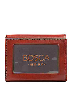Bosca 'Accessories in Leather' Double I.D. Trifold Wallet