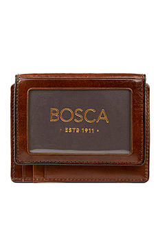 Bosca 'Accessories in Leather' Front Pocket I.D. Wallet