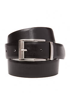 IZOD 1 1/4 in. Reversible Smooth Finish Leather Belt