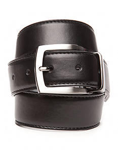 IZOD 1 1/2 in. Reversible Stitched Edge Leather Belt