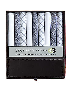 Geoffrey Beene Assorted Handkerchief & Valet Tray Gift Set