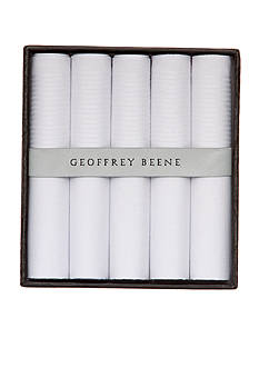 Geoffrey Beene 5-Pack Handkerchief