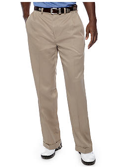Callaway® Golf Pebble Stitched Double Pleated Pants