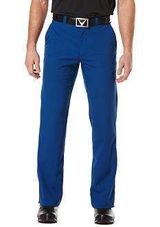 Callaway® Golf Classic Fit Chev Tech Flat Front Pants