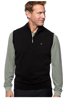 Callaway Golf Quarter-Zip Sweater Vest