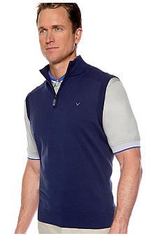 Callaway® Golf Quarter-Zip Sweater Vest