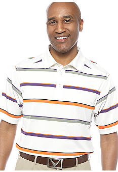 Callaway Golf Big & Tall Auto Stripe Polo