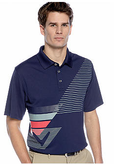 Callaway Golf Tone-On-Tone Tactile Printed Polo